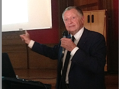 Jean-Michel Aulas escompte une hausse du chiffre d'affaires de 50 % de l'OL au cours du prochain exercice