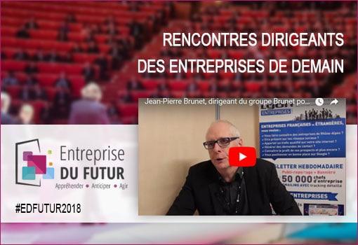 Jean-Pierre Brunet, dirigeant du groupe Brunet pour #EDFutur2018