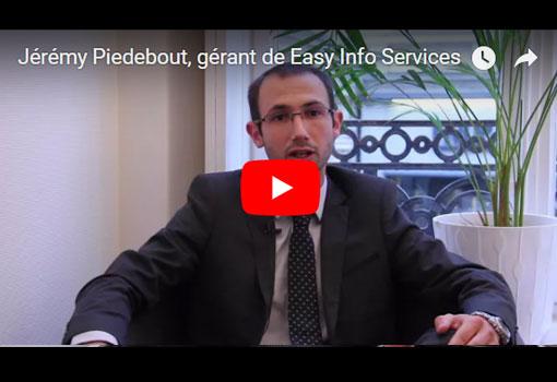 Jérémy Piedebout, gérant de Easy Info Services, dématérialise la donnée papier de l'entreprise