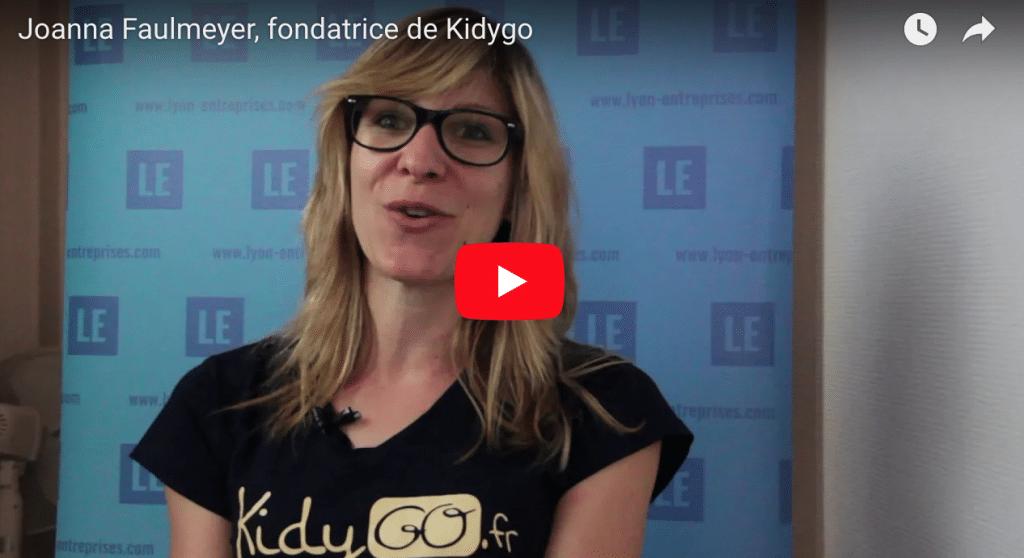 Joanna Faulmeyer, fondatrice de Kidygo