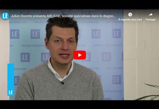 Julien Dorotte présente ARLIANE, société spécialisée dans le diagnostic immobilier