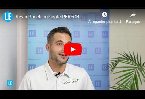 Kevin Puech présente PERFORM COACH société de coaching sportif