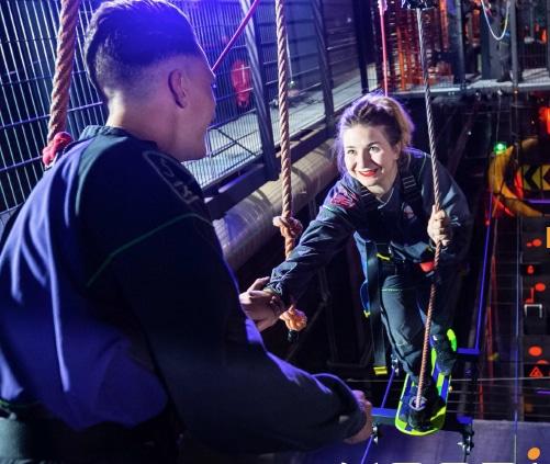 Koezio : un tout nouveau concept de parc d'aventures indoor ouvre début juin à Saint-Priest