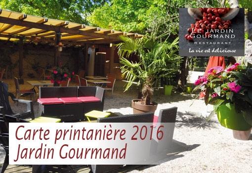 La Carte Printanière fête son arrivée en terrasse au Jardin Gourmand