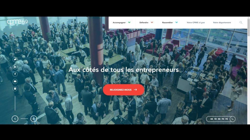 La CPME Auvergne Rhône-Alpes en ligne, by Pilot'In [le film]