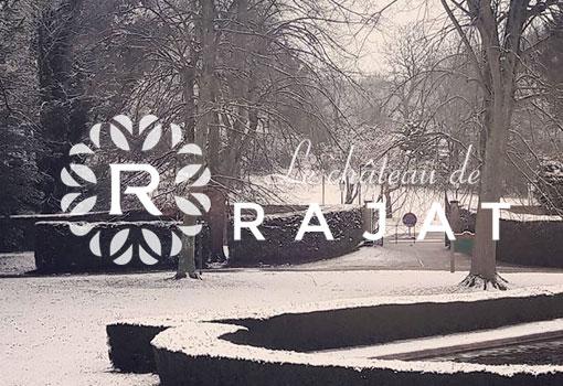 La fin d'année s'annonce festive au Château de Rajat