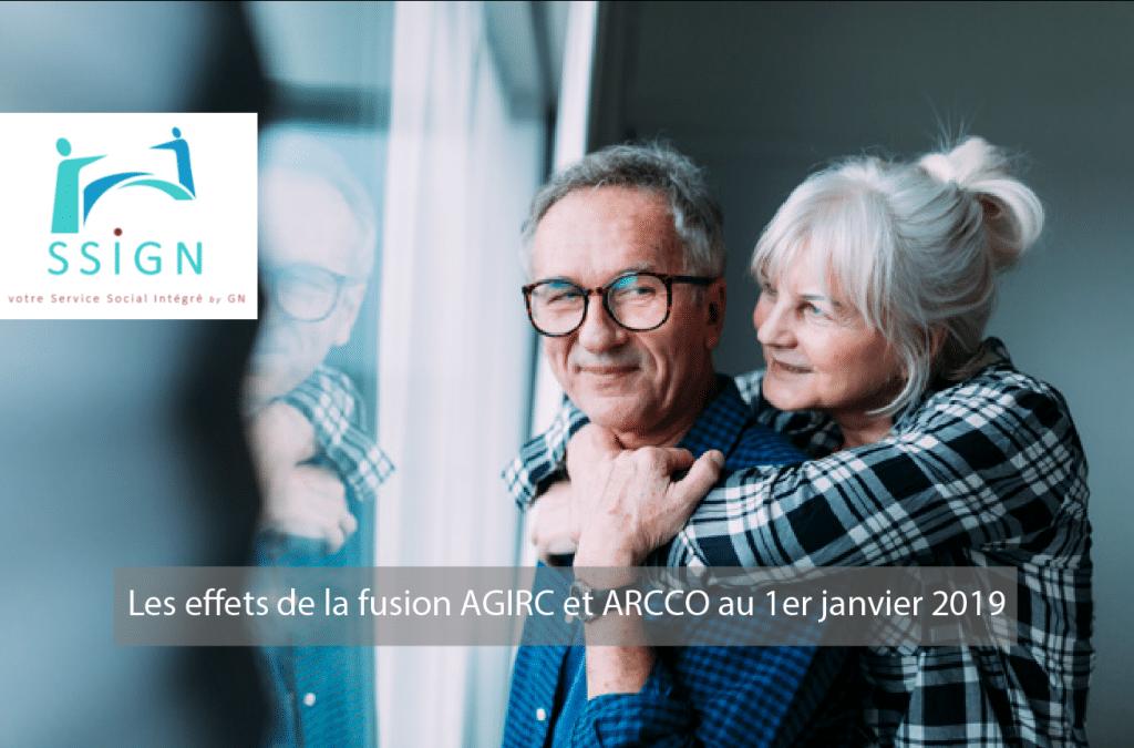 La fusion des caisses de retraite AGIRC et ARCCO au 1er janvier 2019, quels effets ?