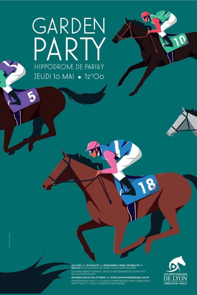 La Garden Party de l'hippodrome de Parilly : un événement à ne pas manquer !