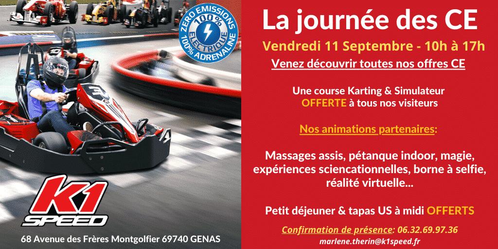 Elus des Comités d'Entreprises : venez essayer le karting électrique indoor, mais pas que !