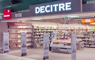 La librairie Decitre devient le troisième cybervendeur de livres en France