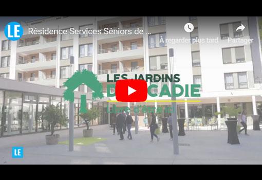 La première résidence seniors avec services de Villefranche-Sur-Saône inaugurée par Bouygues Immobilier et Les Jardins d'Arcadie