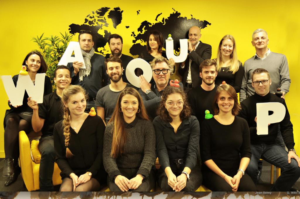La start-up lyonnaise Waoup lève 2,5 millions d'euros pour créer d'autres…start-up