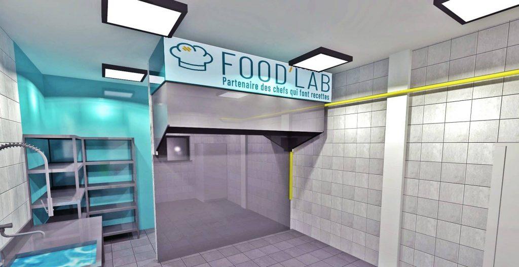 Food'Lab : treize chefs réunis dans un même espace dans le 3ème arrondissement de  Lyon pour ne développer que de la vente à emporter…