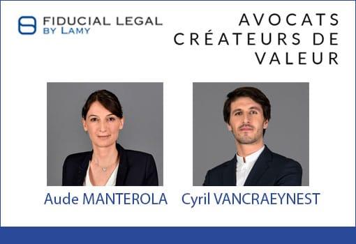Le Cabinet d'avocat FIDUCIAL LEGAL BY LAMY coopte un nouvel associé et renforce son département Bancaire et Fiscalité