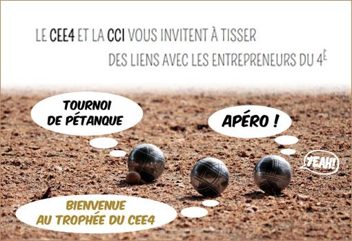 Le CEE4 et la CCI vous invitent à tisser des liens avec les entrepreneurs de Lyon 4