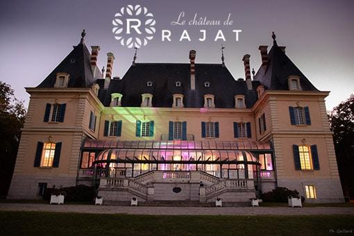 Le Château de Rajat, lieu incontournable de vos événements professionnels à Lyon