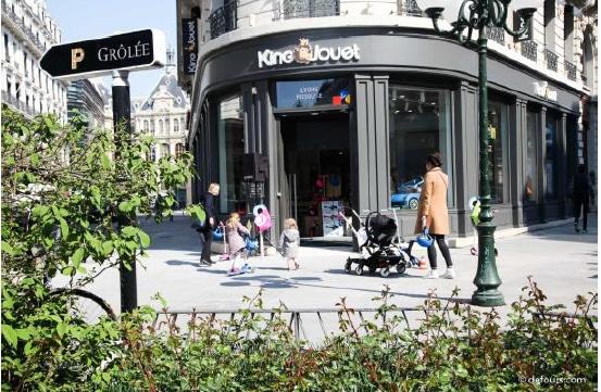 Le jouet fait son retour en Presqu'île lyonnaise : King Jouet s'implante quartier Grolée à Lyon