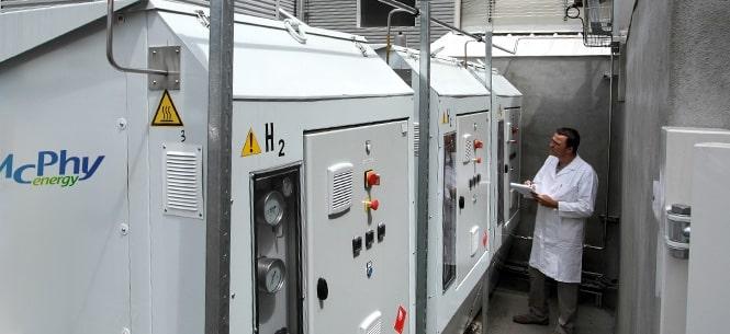 Levée de fonds éclair de…180 millions d'euros pour le spécialiste drômois de l'hydrogène : McPhy