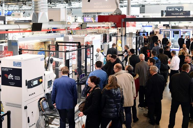 Le premier salon «Global Industrie» à Lyon-Eurexpo a attiré 45 000 visiteurs, plus que l'édition parisienne