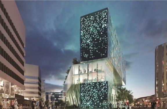 Le processus est lancé: «Lumen, Cité de la Lumière» verra le jour en 2019 sur 5 500 m2 à Lyon-Confluence