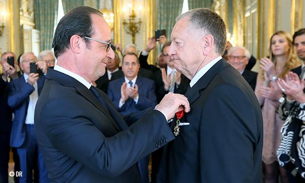 Légion d'Honneur: Jean-Michel Aulas officier «pour souligner ses qualités d'entrepreneur»