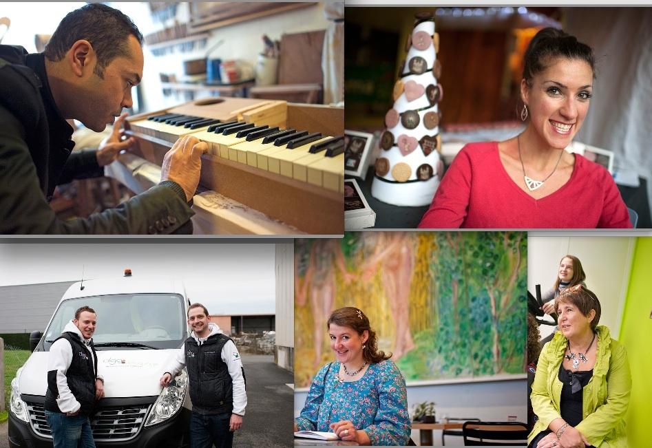 Les cinq start-up lauréates 2014 de «Lyon Ville de l'Entrepreneuriat»