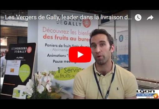 Les corbeilles de fruits des Vergers de Gally étaient aussi sur Préventica Lyon 2018