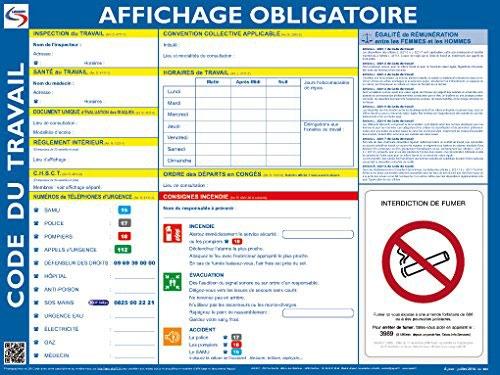 LES OBLIGATIONS D'AFFICHAGE EN ENTREPRISE