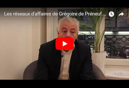 Les réseaux d'affaires de Grégoire de Préneuf – créateur de Deuzzi