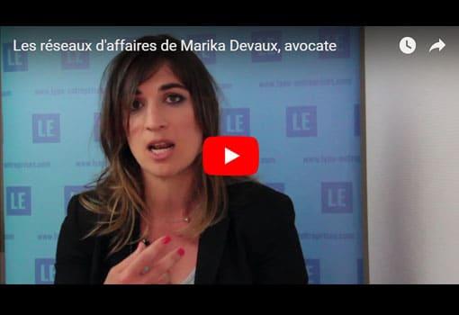 Les réseaux d'affaires de Marika Devaux, avocate aux barreaux de Lyon et de Turin