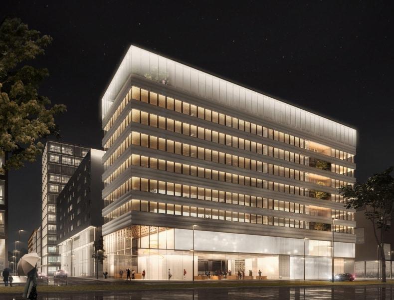 Les travaux de Lumen, le futur hub de 6 000 m2 de la filière lumière à Lyon-Confluence, ont démarré