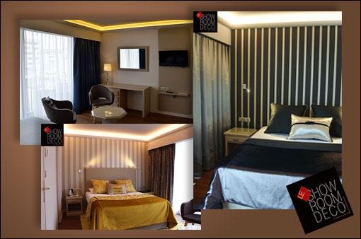 l 39 h tel charlemagne de lyon 2 repense ses chambres avec. Black Bedroom Furniture Sets. Home Design Ideas