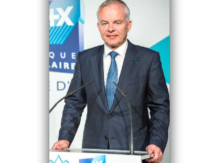 Lionel BAUD, un chef d'entreprise de la Vallée de l'Arve prend la présidence de la Banque Populaire Auvergne-Rhône-Alpes