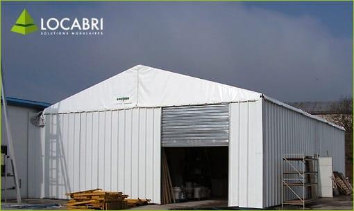 Location de Barnum, tente, chapiteau, entrepôts et structures temporaires
