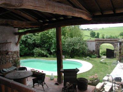 Location de maison de campagne avec piscine à la semaine
