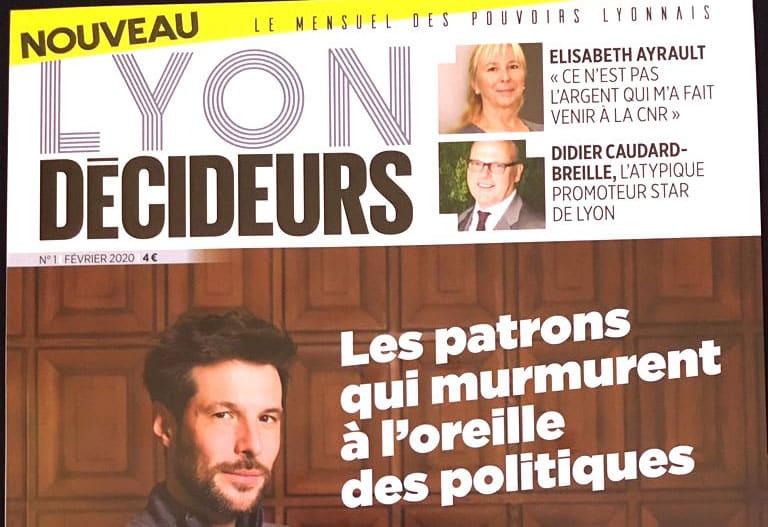 Lancement d'un nouveau mensuel économique  dans la Métropole lyonnaise : «Lyon Décideurs»
