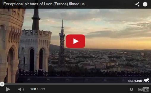 Lyon filmé à partir d'un drone: la vidéo dépasse les 100 000 vues