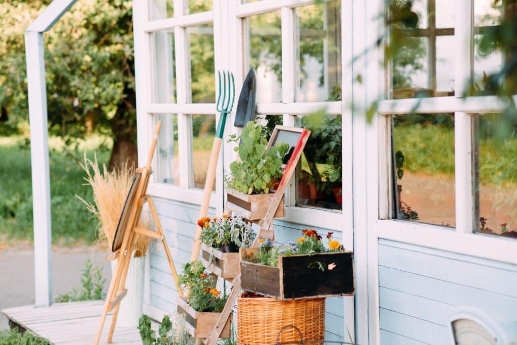 ma maison mon jardin abri rangement jardinage rangement extérieur en résine en bois abris bois