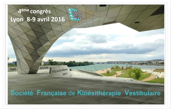 Magnomega au 4 ème congrès de la SFKV (Société Française de Kinésithérapie Vestibulaire)