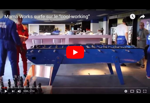 """Mama Works surfe sur le """"cool-working"""""""