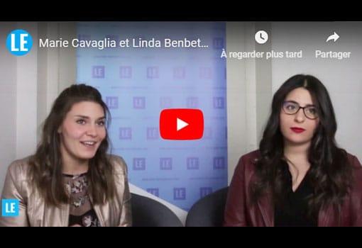 Marie Cavaglia et Linda Benbetka présentent AU CARRE, société événementielle originale