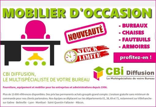 Mobilier de bureau d'occasion – profitez des bonnes affaires de CBI Diffusion !