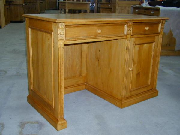 Mobilier de bureau sur mesure, toutes essences de bois