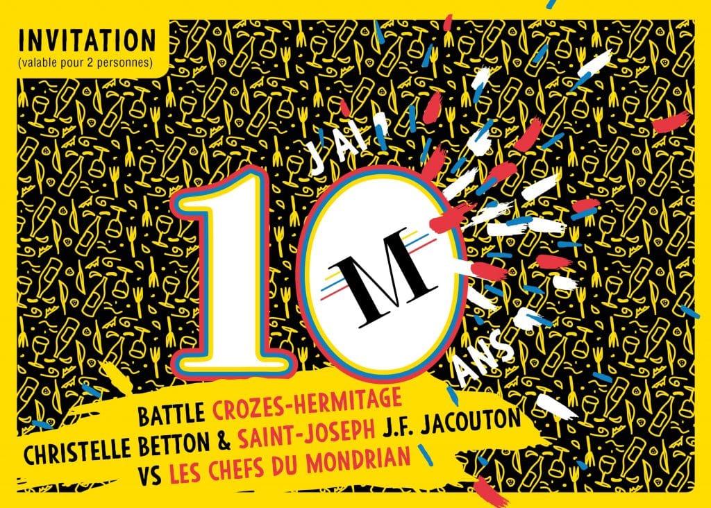 Jeudi 24 Sept : Rencontre Vigneron #2 au restaurant Le Mondrian [RDV network du Club]