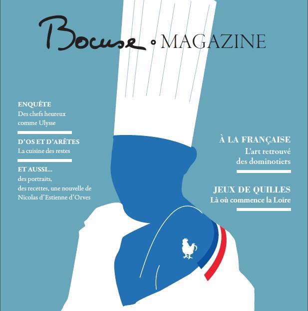 Naissance de «Bocuse Magazine»: rédactrice en chef, Sonia Ezgulian