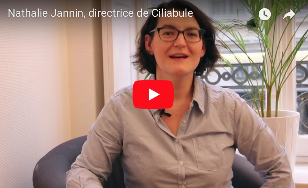 Nathalie Jannin, directrice de Ciliabule