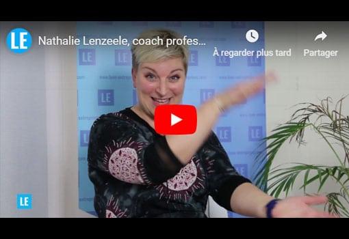 Nathalie Lenzeele, coach professionnelle, présente NL Coaching