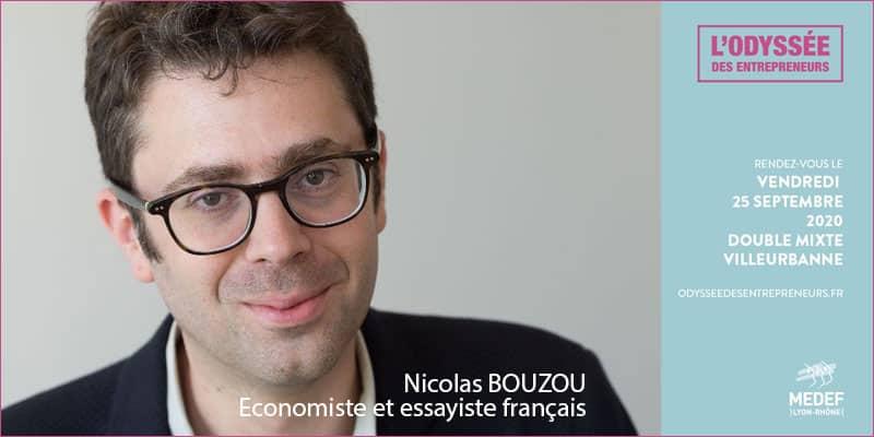 Nicolas BOUZOU sera présent à l'Odyssée des entrepreneurs 2020