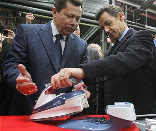Nicolas Sarkozy chez Calor et à Eurexpo :«D'ici la fin du mois, des décisions extrêmement lourdes seront prises»