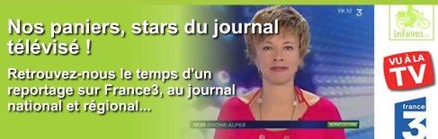 Nos paniers star du journal télévisé FR3